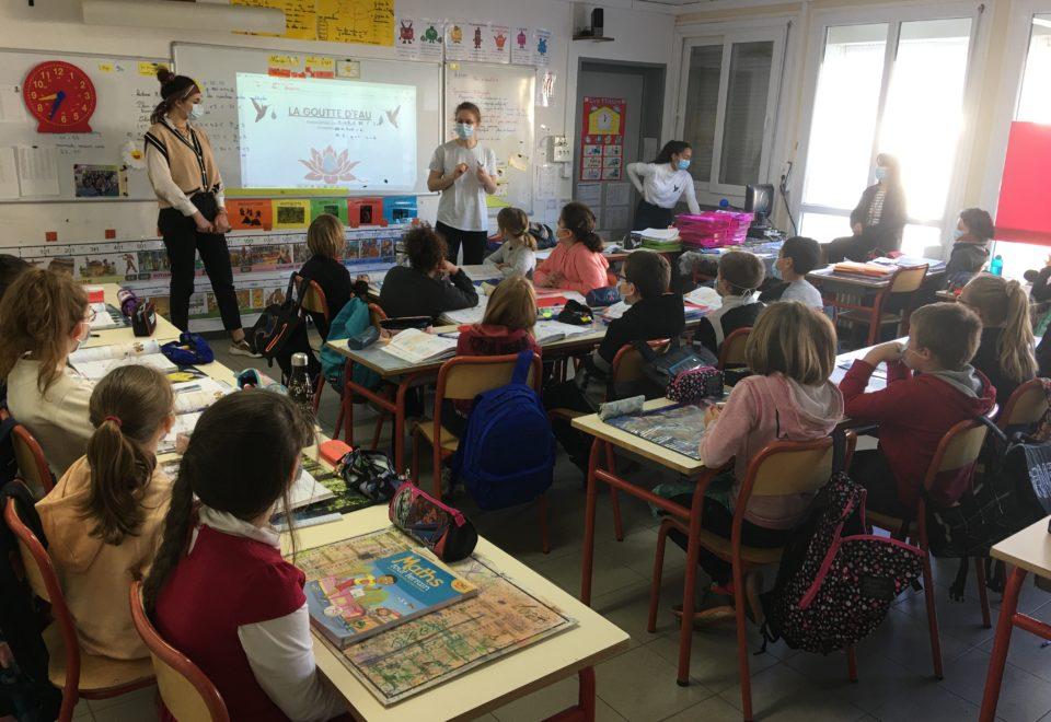 """Action de solidarité : en partenariat avec l'association """"La Goutte d'Eau"""""""