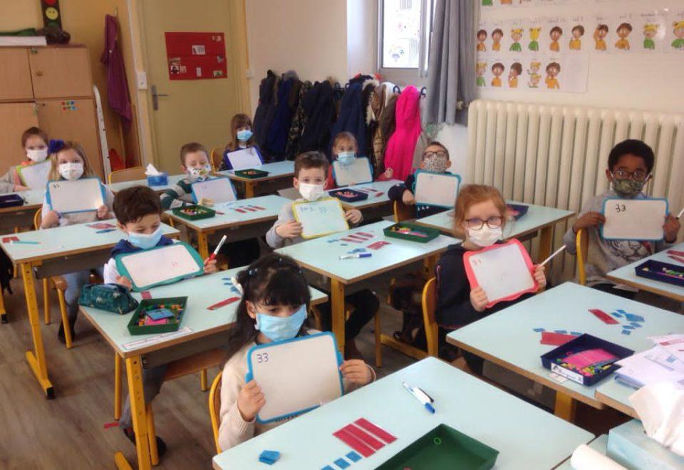 Atelier en mathématiques chez les GS/CP