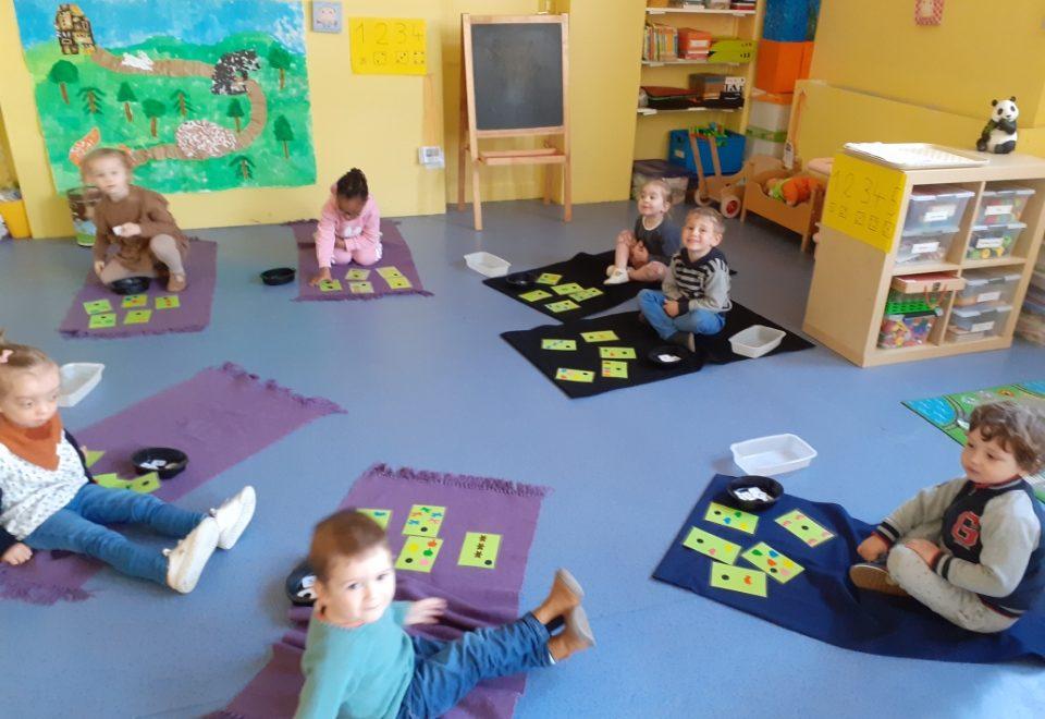 Ateliers individuels de manipulation chez Mme Falempin