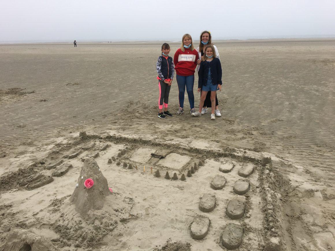 Concours de châteaux de sable pour les CM1 et CM2