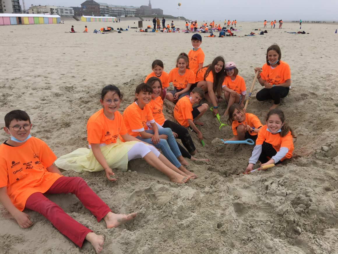 Sortie à la plage pour les CP/CE et CM