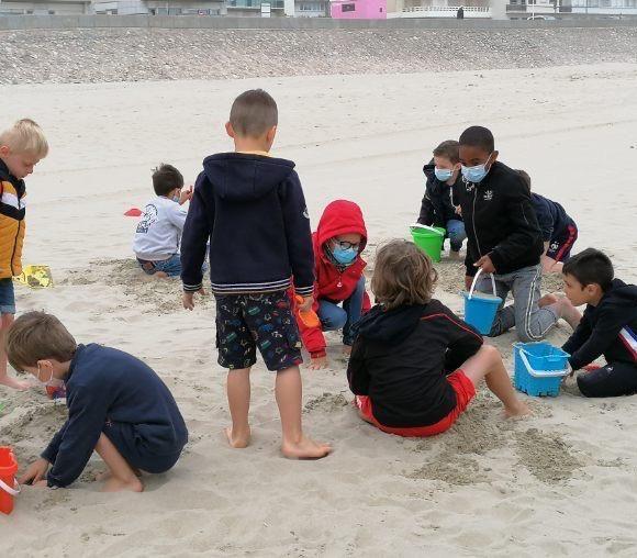 Sortie à la plage pour les GS/CP