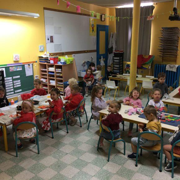 Qu'ont fait les élèves de Mme Falempin jeudi et vendredi dernier???