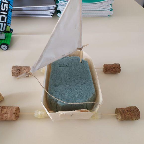 Comment construire un char à voile ? dans la classe de Mme Leriche