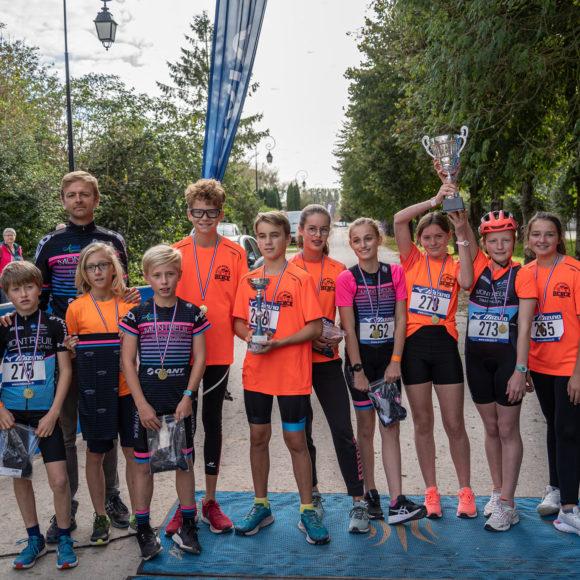 1er Bike & Run du Montreuillois pour les élèves de la section sportive